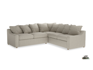 XLRH Cloud Corner Sofa Bed Cut Out
