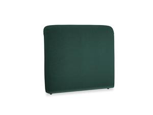 Double Cookie Headboard in Dark green Clever Velvet