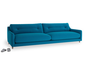 Extra large Slim Jim Sofa in Bermuda Brushed Cotton