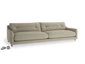 Extra large Slim Jim Sofa in Jute vintage linen