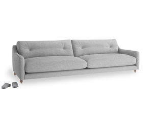 Extra large Slim Jim Sofa in Mist cotton mix
