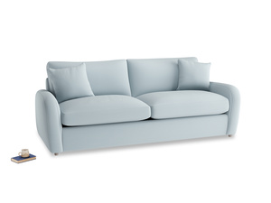Large Easy Squeeze Sofa Bed in Scandi blue clever cotton