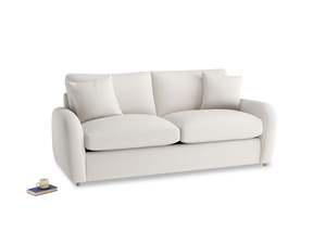 Medium Easy Squeeze Sofa Bed in Chalk clever cotton