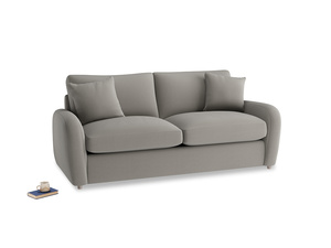 Medium Easy Squeeze Sofa Bed in Monsoon grey clever cotton