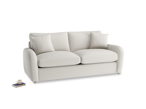 Medium Easy Squeeze Sofa Bed in Moondust grey clever cotton