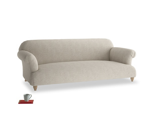 Large Soufflé Sofa in Thatch house fabric
