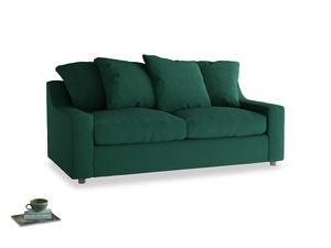 Medium Cloud Sofa in Cypress Green Vintage Linen