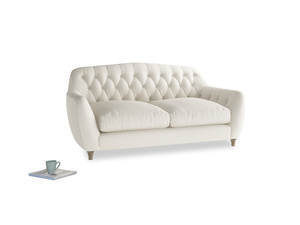 Medium Butterbump Sofa in Chalky White Clever Softie