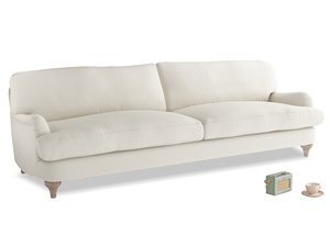 Extra large Jonesy Sofa in Chalky White Clever Softie