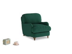 Jonesy Armchair in Cypress Green Vintage Linen