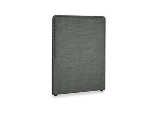 Single Smith Headboard in Pencil Grey Clever Laundered Linen