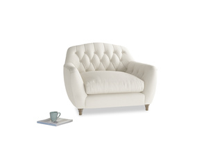 Love Seat Butterbump Love Seat in Chalky White Clever Softie