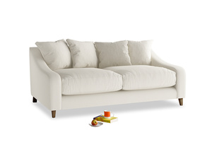 Medium Oscar Sofa in Chalky White Clever Softie