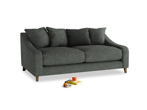 Medium Oscar Sofa in Pencil Grey Clever Laundered Linen