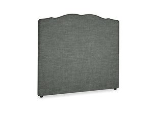 Double Marie Headboard in Pencil Grey Clever Laundered Linen
