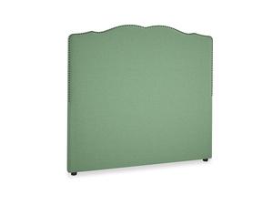 Double Marie Headboard in Thyme Green Vintage Linen
