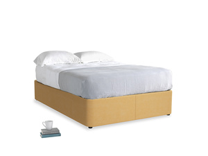 Double Store Storage Bed in Honeycomb Clever Softie