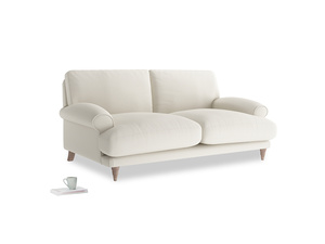 Medium Slowcoach Sofa in Chalky White Clever Softie