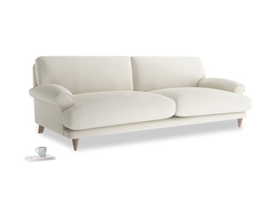 Extra large Slowcoach Sofa in Chalky White Clever Softie