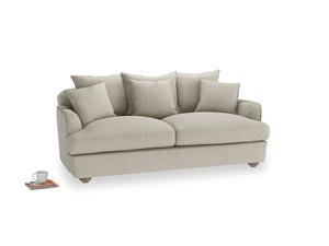 Medium Smooch Sofa in Thatch house fabric