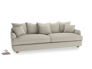 Extra large Smooch Sofa in Thatch house fabric