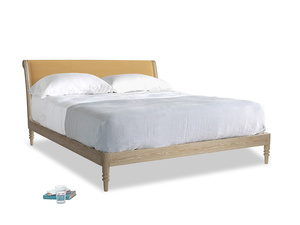 Superking Darcy Bed in Honeycomb Clever Softie