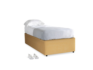 Single Friends Trundle Bed in Honeycomb Clever Softie