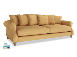 Extra large Sloucher Sofa in Honeycomb Clever Softie