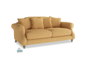 Medium Sloucher Sofa in Honeycomb Clever Softie