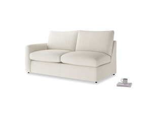 Chatnap Storage Sofa in Chalky White Clever Softie with a left arm