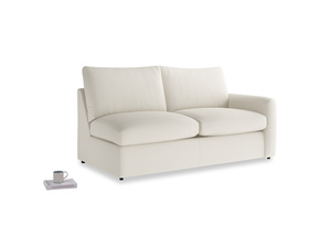 Chatnap Storage Sofa in Chalky White Clever Softie with a right arm