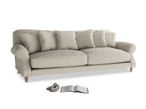 Extra large Crumpet Sofa in Thatch house fabric