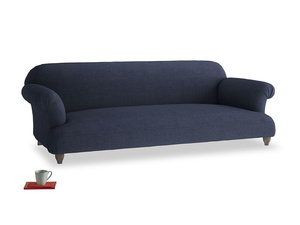 Extra large Soufflé Sofa in Seriously Blue Clever Softie