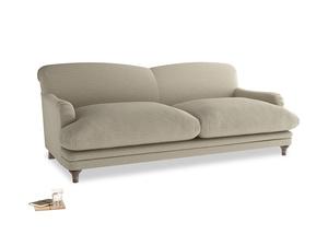Large Pudding Sofa in Jute Vintage Linen