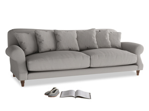 Extra large Crumpet Sofa in Safe grey clever linen
