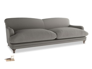 Extra large Pudding Sofa in Monsoon grey clever cotton