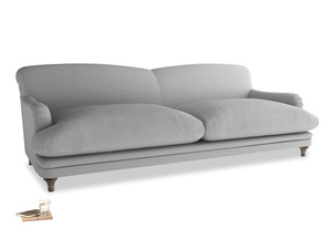 Extra large Pudding Sofa in Pewter Clever Softie