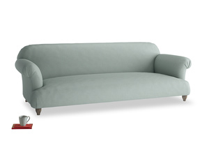 Extra large Soufflé Sofa in Sea fog Clever Woolly Fabric