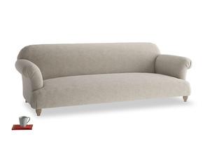 Extra large Soufflé Sofa in Birch wool