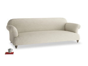 Extra large Soufflé Sofa in Shell Clever Laundered Linen