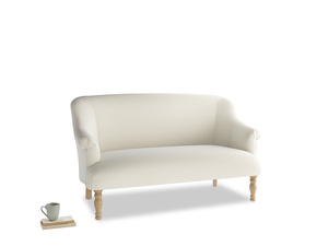 Medium Sweetie Sofa in Alabaster Bamboo Softie