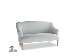Medium Sweetie Sofa in Gull Grey Bamboo Softie