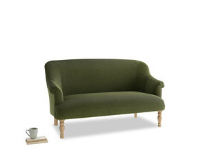 Medium Sweetie Sofa in Leafy Green Clever Cord