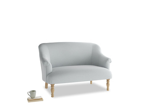 Small Sweetie Sofa in Gull Grey Bamboo Softie