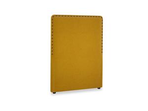 Single Smith Headboard in Saffron Yellow Clever Cord