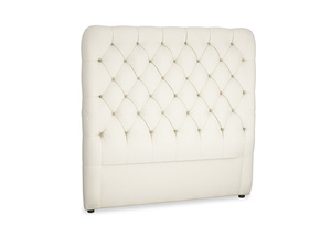 Double Tall Billow Headboard in Alabaster Bamboo Softie
