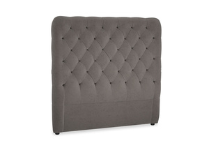 Double Tall Billow Headboard in Everyday Grey Clever Cord