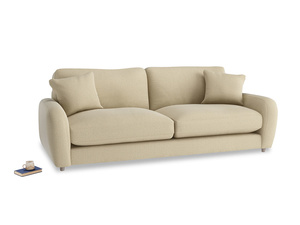 Large Easy Squeeze Sofa Bed in Hopsack Bamboo Softie