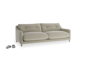 Medium Slim Jim Sofa in Blighty Grey Clever Cord