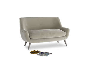 Small Berlin Sofa in Blighty Grey Clever Cord